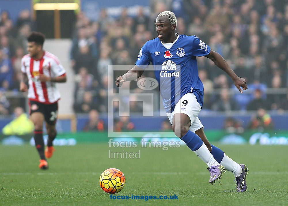 Arouna Kone of Everton in action against Sunderland during the Barclays Premier League match at Goodison Park, Liverpool.<br /> Picture by Michael Sedgwick/Focus Images Ltd +44 7900 363072<br /> 01/11/2015