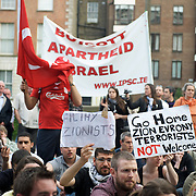 Demonstration against Israel's raid on the Gaza aid flotilla.