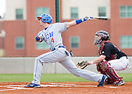 April 18, 2009: The Lubbock Christian University Chaps play against the Oklahoma Christian University Eagles at Dobson Field on the campus of Oklahoma Christian University.