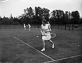 1958 Inter-university Championship Tennis. UCC vs. QUB
