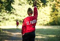 St Paul's School varsity cross country.  ©2019 Karen Bobotas Photographer