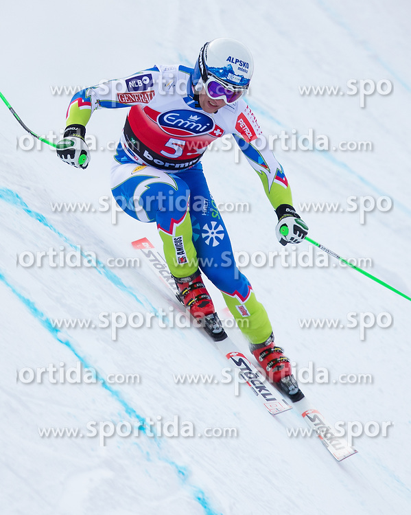 27.12.2012, Stelvio, Bormio, ITA, FIS Weltcup, Ski Alpin, Abfahrt, 1. Training, Herren, im Bild Rok Perko (SLO) // Rok Perko of Slovenia in action during 1st practice of the mens Downhill of the FIS Ski Alpine Worldcup at the Stelvio course, Bormio, Italy on 2012/12/27. EXPA Pictures © 2012, PhotoCredit: EXPA/ Johann Groder