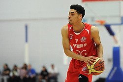 Bristol Flyers' Roy Owen - Photo mandatory by-line: Dougie Allward/JMP - Mobile: 07966 386802 - 18/04/2015 - SPORT - Basketball - Bristol - SGS Wise Campus - Bristol Flyers v Leeds Force - British Basketball League