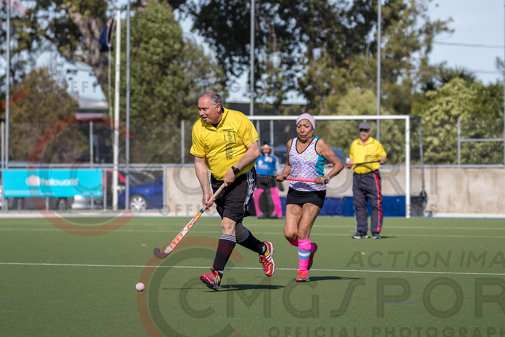 GOLDEN OLDIES FESTIVAL OF SPORT HOCKEY<br /> TANGO GIRLS<br /> 20180416<br /> SARA COX<br /> Photo SARA COX CMG SPORT ACTION IMAGES<br /> &copy;cmgsport2018