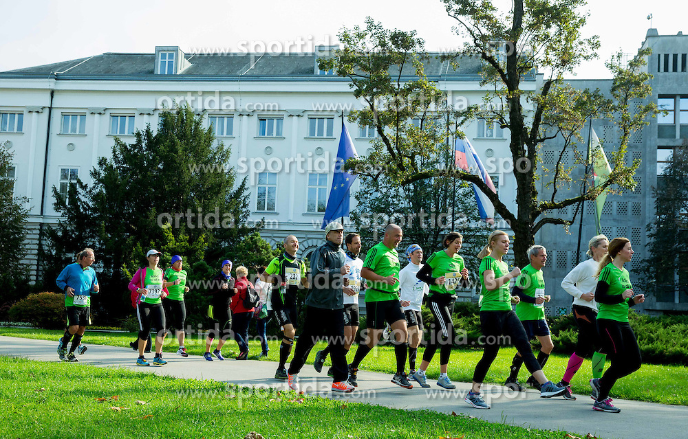Adidas sola teka during 19th Ljubljana Marathon 2014 on October 26, 2014 in Ljubljana, Slovenia. Photo by Vid Ponikvar / Sportida.com