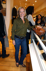 MARIELLA FROSTRUP at the launch party for the Comptoir des Cotonniers boutique, 235 Westbourne Grove, London W11 on 25th October 2006.<br />
