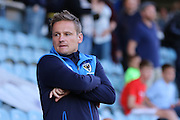 AFC Wimbledon manager Neal Ardley prior the EFL Cup match between Peterborough United and AFC Wimbledon at ABAX Stadium, Peterborough, England on 9 August 2016. Photo by Stuart Butcher.
