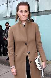 Yasmin Le Bon at the Christopher Kane show at London Fashion Week A/W 14, Monday, 17th February 2014. Picture by Stephen Lock / i-Images