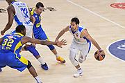 DESCRIZIONE : Eurolega Euroleague 2015/16 Group D Dinamo Banco di Sardegna Sassari - Maccabi Fox Tel Aviv<br /> GIOCATORE : Rok Stipcevic<br /> CATEGORIA : Palleggio Penetrazione Blocco<br /> SQUADRA : Dinamo Banco di Sardegna Sassari<br /> EVENTO : Eurolega Euroleague 2015/2016<br /> GARA : Dinamo Banco di Sardegna Sassari - Maccabi Fox Tel Aviv<br /> DATA : 03/12/2015<br /> SPORT : Pallacanestro <br /> AUTORE : Agenzia Ciamillo-Castoria/L.Canu