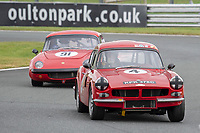 #4 John LESLIE Reliant Sabre 6 GT  during CSCC Adams & Page Swinging Sixties Series  as part of the CSCC Oulton Park Cheshire Challenge Race Meeting at Oulton Park, Little Budworth, Cheshire, United Kingdom. June 02 2018. World Copyright Peter Taylor/PSP.