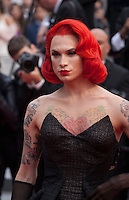 Miss Fame at the gala screening for the film The BFG at the 69th Cannes Film Festival, Saturday 14th May 2016, Cannes, France. Photography: Doreen Kennedy