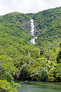 Waterfall on the the east coast of Grande Terre, New Caledonia, Melanesia, South Pacific