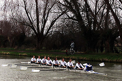 The Lent Bumps on the River Cambridge ..Mens 2nd division race,  March 2, 2000. Photo by Andrew Parsons / i-images..