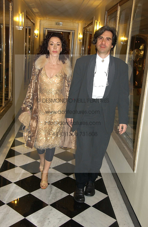 Designer HELEN DAVID and her husband COLIN DAVID at Respoke Bespoke in aid of the Rainforest Foundation held at Claridges, Brook Street, London on 18th October 2006.<br /><br />NON EXCLUSIVE - WORLD RIGHTS