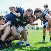 Calvisano 24/05/2018 <br /> Allenamento nazionale italiana di rugby<br /> la nazionale maggiore e la U20