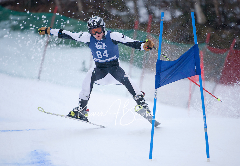 Mac Cup giant slalom at Wildcat 1st run Pinkham Notch, NH