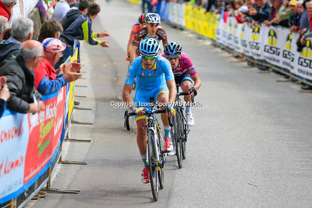 Mikel Landa Meana / Richie Porte / Romain Bardet - 23.04.2015 - Tour du Trentin - Etape 03<br /> Photo : Pierre Teyssot / Icon Sport