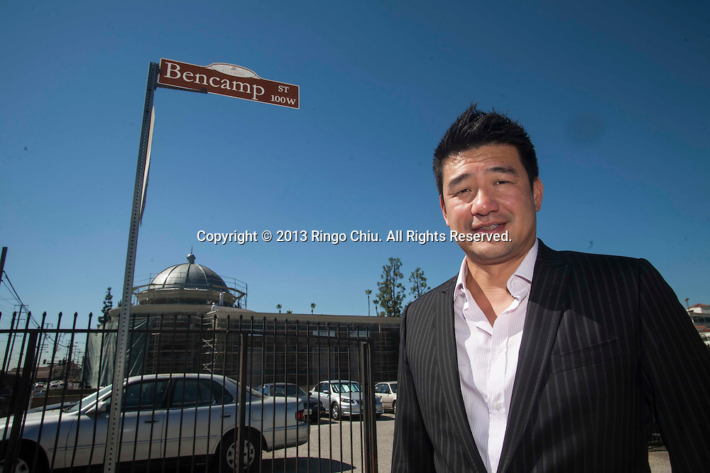 David Lee of Hing Wa Lee Jewelers. Lee's Hing Wa Lee Jewelers store is getting a street named after it when its new store opens, changing Bencamp Street to Hing Wa Lee Place in October. (Photo by Ringo Chiu/PHOTOFORMULA.com)