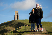 Glastonbury Tor and town