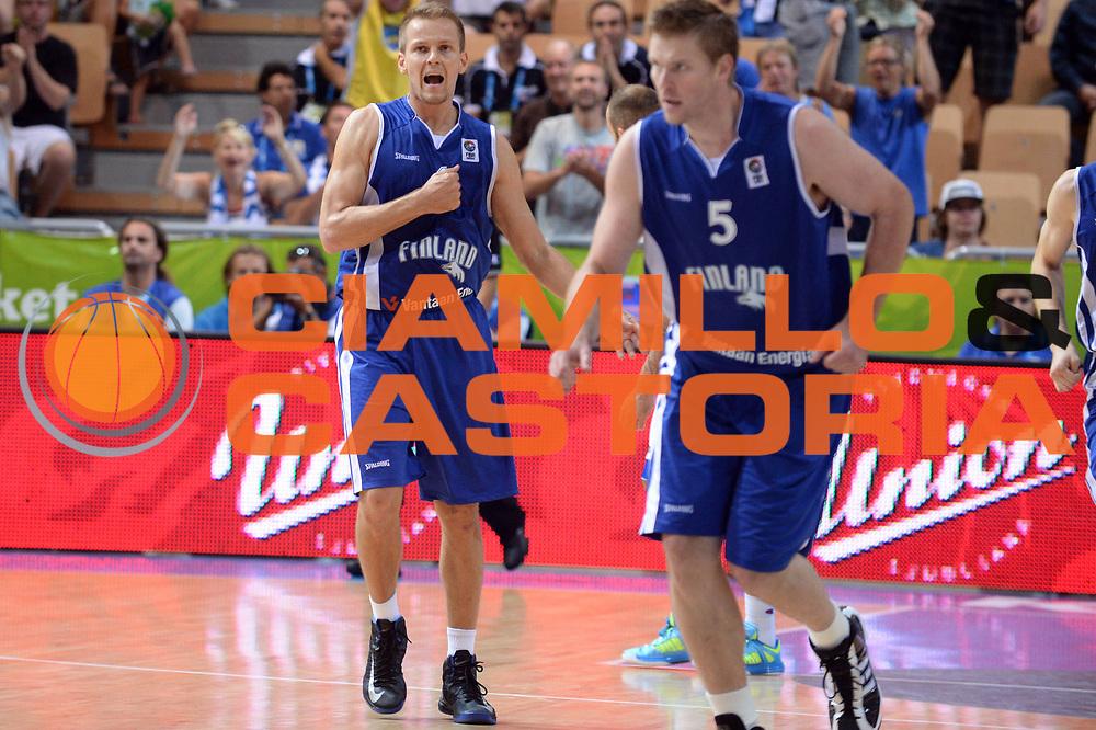 DESCRIZIONE : Capodistria Koper Slovenia Eurobasket Men 2013 Preliminary Round Grecia Finlandia Greece Finland<br /> GIOCATORE : Mikko Koivisto<br /> CATEGORIA : Esultanza<br /> SQUADRA : Finlandia Finland<br /> EVENTO : Eurobasket Men 2013<br /> GARA : Grecia Finlandia Greece Finland<br /> DATA : 09/09/2013<br /> SPORT : Pallacanestro&nbsp;<br /> AUTORE : Agenzia Ciamillo-Castoria/Max.Ceretti<br /> Galleria : Eurobasket Men 2013 <br /> Fotonotizia : Capodistria Koper Slovenia Eurobasket Men 2013 Preliminary Round Grecia Finlandia Greece Finland<br /> Predefinita :