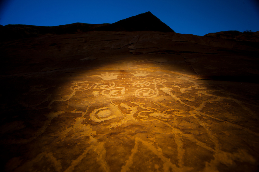 Petroglyph Point Trail, Mesa Verde National Park, images created while serving as Artist-In-Residence for Mesa Verde National Park.