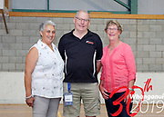 INDOOR BOWLS<br /> TRIPLES<br /> Downer NZ Masters Games 2019<br /> 20190204<br /> WHANGANUI, NEW ZEALAND<br /> Photo ANNETTE JOHNSTON CMGSPORT<br /> WWW.CMGSPORT.CO.NZ