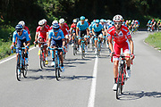 Jesus Herrada (ESP) Cofidis during the 73th Edition of the 2018 Tour of Spain, Vuelta Espana 2018, Stage 13 cycling race, Candas Carreno - La Camperona 174,8 km on September 7, 2018 in Spain - Photo Luca Bettini / BettiniPhoto / ProSportsImages / DPPI