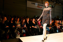 UK ENGLAND LONDON 13FEB07 - Models on the catwalk during the PPQ show at the London Fashion Week's BFC tent next to the Natural History Museum, Kensington, central London...jre/Photo by Jiri Rezac..© Jiri Rezac 2007..Contact: +44 (0) 7050 110 417.Mobile:  +44 (0) 7801 337 683.Office:  +44 (0) 20 8968 9635..Email:   jiri@jirirezac.com.Web:    www.jirirezac.com..© All images Jiri Rezac 2007 - All rights reserved.