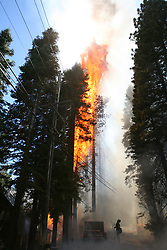 Forest Fires in Lake Tahoe