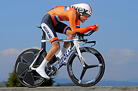 Tom DUMOULIN (Ned) during the UCI Road World Championships 2014, in Ponferrada,  Spain, Time Trial Men Elite,  Ponferrada - Ponferrada (47Km), on September 24, 2014. Photo Tim de Waele / DPPI