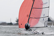 ENGLAND, London, Queen Mary Sailing Club, January 9th 2010, Bloody Mary Pursuit Race, D-One 1, Adrian Brunton, (Mengeham Rythe SC)