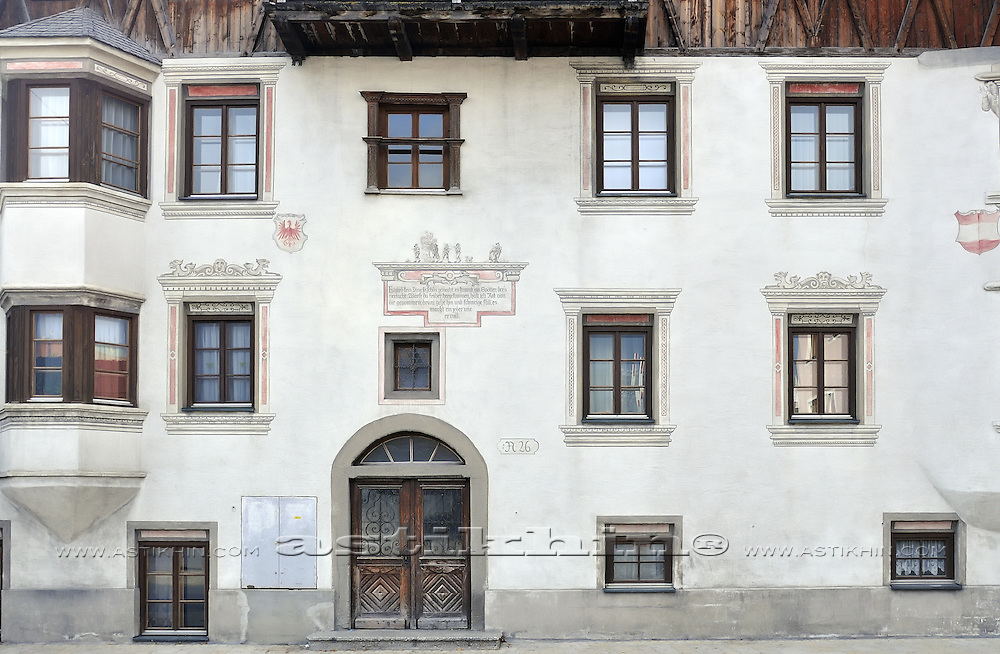 German-style façades