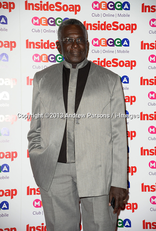 Inside Soap Awards.<br /> Rudolph Walker arrives for the Inside Soap Awards, Ministry of Sound, London, United Kingdom,<br /> Monday, 21st October 2013. Picture by Andrew Parsons / i-Images