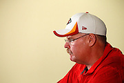 Kansas City Chiefs head coach Andy Reid holds a press conference at the end of a three day NFL football minicamp at the team's practice facility in Kansas City, Mo., Thursday, June 19, 2014. (AP Photo/Colin E. Braley)