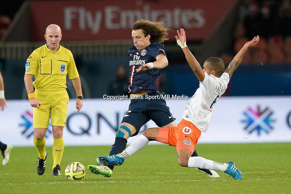David LUIZ - 20.12.2014 - Paris Saint Germain / Montpellier - 17eme journee de Ligue 1 -<br />Photo : Aurelien Meunier / Icon Sport