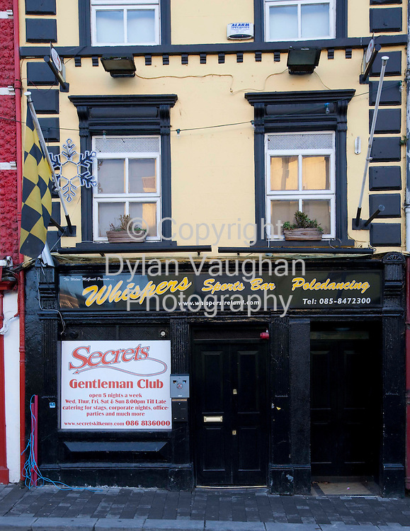 13/1/2009.Whispers club on Parliment street in Kilkenny..Picture Dylan Vaughan.