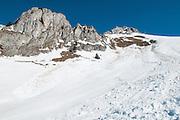 Bild von Lawinenfeld unterhalb  Strüssligrat und Stockhorn Simmental Berner Oberland