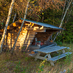 The Roach Farm Campsite on the International Appalachian Trail. Merrill, Maine - near Smyrna Mills.
