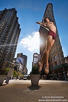 Flatiron Building- Dance As Art featuring dancer Andy Jacobs