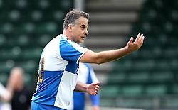 Wael Al-Qadi president of Bristol Rovers FC takes part in the Bristol Fan Derby - Mandatory by-line: Robbie Stephenson/JMP - 04/09/2016 - FOOTBALL - Memorial Stadium - Bristol, England - Bristol Rovers Fans v Bristol City Fans - Bristol Fan Derby