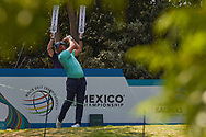 Shaun Norris (RSA) watches his tee shot on 4 during Rd4 of the World Golf Championships, Mexico, Club De Golf Chapultepec, Mexico City, Mexico. 2/23/2020.<br /> Picture: Golffile | Ken Murray<br /> <br /> <br /> All photo usage must carry mandatory copyright credit (© Golffile | Ken Murray)