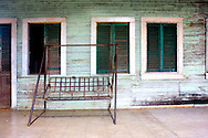 Porch swing in Bolivia, Ciego de Avila Province, Cuba.