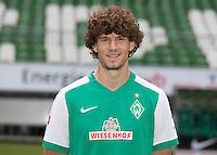 German Soccer Bundesliga 2015/16 - Photocall of Werder Bremen on 10 July 2015 in Bremen, Germany: Mateo Pavlovic