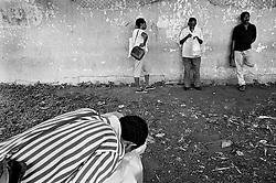 "CUBA/1994                                                                                                                    *EN: Rationing. Emigration. A shortage of basic foodstuffs, medicine, clothing and everyday necessities. Hunger and poverty. Prostitution. Disease. A police state, repression, imprisonment, torture and persecution... Beautiful nature, the ocean, paradise. Tourists. Socialism and permanent revolution. Fidel Castro, Che and the others. This is Cuba. The ""Island of Freedom"".  For the average citizen, transportation in Cuba is a tribulation. Fuel shortages have cast the average Cuban into the same queue for transport, not only for food. If you don't own a bicycle, often imported from China, your only option is to take your place in line and wait for a bus which sometimes never even arrives. Setting out across the island by train means putting your name on a waiting list, and weeks or months of waiting..*CZ: Pridelovy sytem. Emigrace. Nedostatek zakladnich potravin, leku, obleceni a veci denni potreby. Hlad a  bida. Prostituce. Nemoci. Policejni stat, represe, zavirani, muceni, pronasledovani... Krasna priroda, more, raj na zemi. Turiste. Socialismus a permanentni revoluce. Che, Fidel a ti ostatni. Kuba. ""Ostrov svobody"". Doprava na Kube je pro bezneho obcana utrpenim. Nedostatek pohonnych hmot srazil bezneho kubance do stejne pridelove fronty na dopravu, nejen na jidlo. Pokud nevlastnite kolo, casto importovane z Ciny, nezbyva vam, nez se zaradit do fronty a cekani na autobus, ktery nekdy vubec neprijede. Vydat se vlakem napric ostrovem je otazka zapsani se do poradniku a tydnu, ci mesicu cekani."