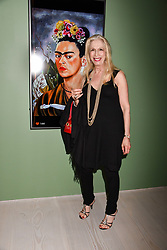 Lady Colin Campbell at a preview of the 'From Selfie To Self-Expression' exhibition at The Saatchi Gallery, Duke Of York's HQ, King's Road, London, England. 30 March 2017.
