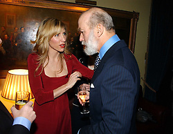 LADY McCARTNEY and HRH PRINCE MICHAEL OF KENT at a reception to support The Hyde Park Appeal at the Officers Mess, Hyde Park Barracks, London SW1 on 24th January 2007.<br /><br /><br />NON EXCLUSIVE - WORLD RIGHTS