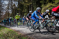 Daniel Martin (IRL,11) of Etixx - Quick Step at C&ocirc;te de Wanne in the peloton with 95 km to go, the 102th edition of Li&egrave;ge-Bastogne-Li&egrave;ge race running 253 km from Li&egrave;ge to Li&egrave;ge, Belgium, 24 April 2016.<br /> Photo by Pim Nijland / PelotonPhotos.com<br /> <br /> All photos usage must carry mandatory copyright credit (&copy; Peloton Photos | Pim Nijland)