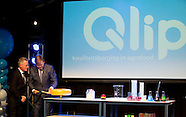 King Willem-Alexander opened renewed Qlip dairy laboratory, Zutphen 26-01-2017