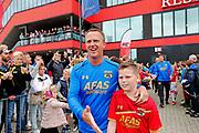 ALKMAAR - 25-06-2017, eerste training AZ. AZ trainer John van den Brom