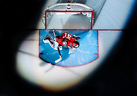 OTTAWA, ON - NOVEMBER 02:  Ottawa Senators Goalie Craig Anderson (41) stretches in his crease under the spotlight prior to the NHL game between the Ottawa Senators and the Detroit Red Wings on Nov. 2, 2017 at the Canadian Tire Centre in Ottawa, Ontario, Canada. (Photo by Steven Kingsman/Icon Sportswire)
